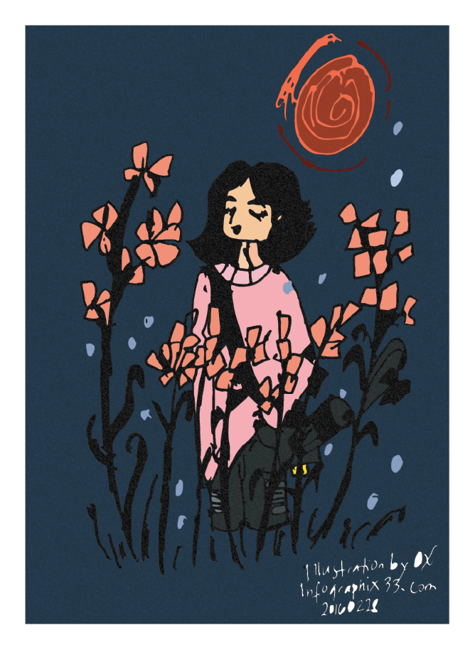 illustration in field