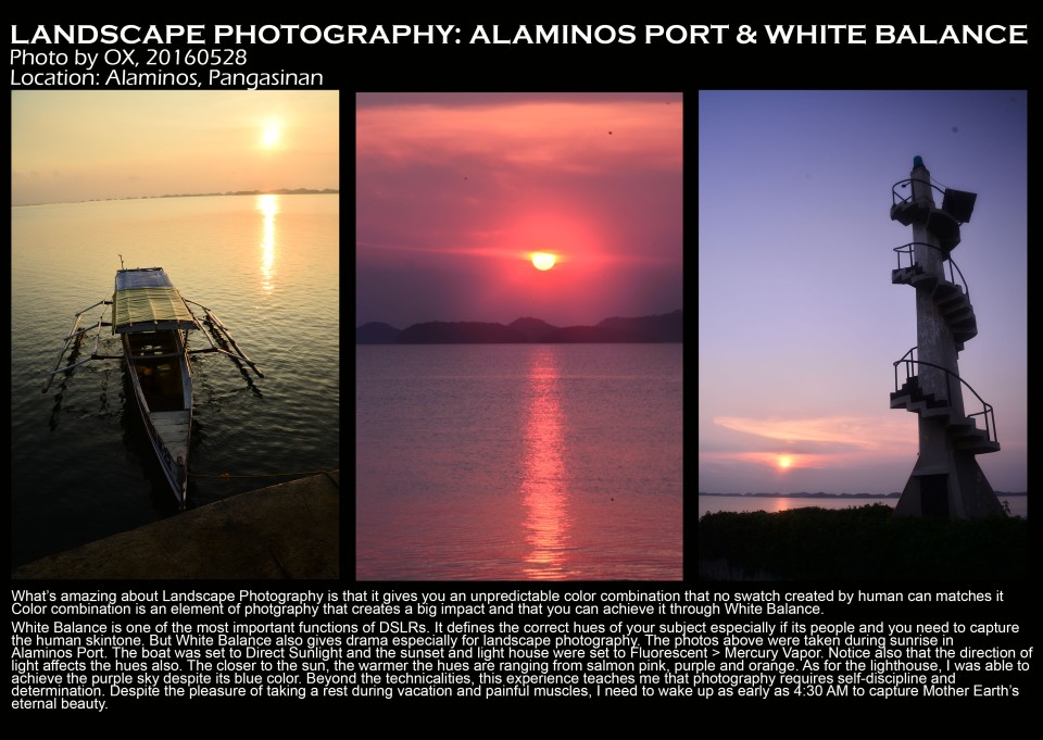alminos port and white balance