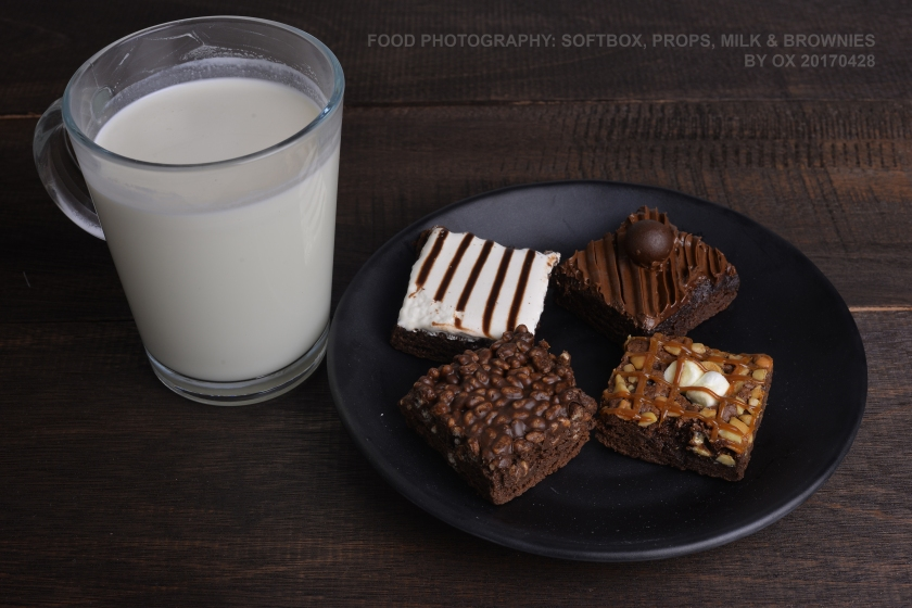 food ph bead milk brownies